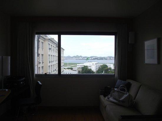 Hotel Novotel Rio De Janeiro Santos Dumont:                   Janela antirruido