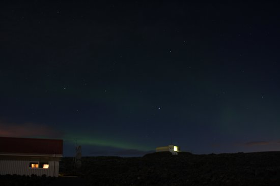 Northern Light Inn :                   Our best shot of the Lights