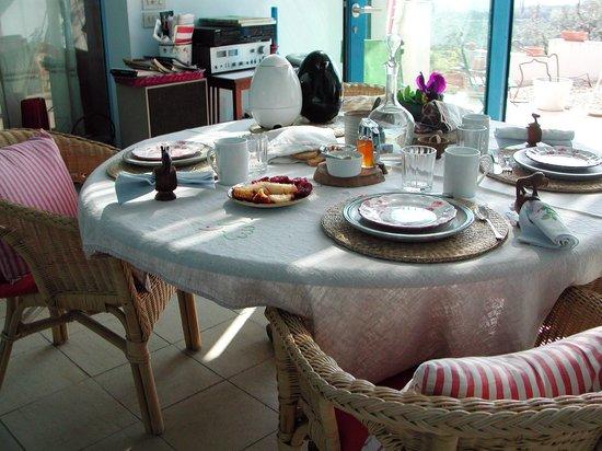 Casa Bartolini:                   breakfast