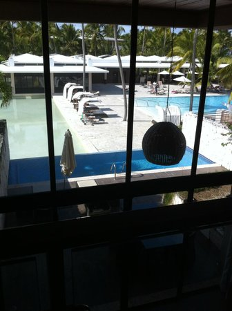 Catalonia Royal Bavaro:                   View of the Infinity pool