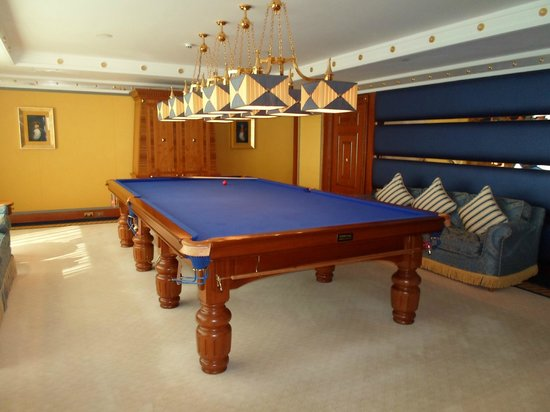 Burj Al Arab Jumeirah :                   Snooker table