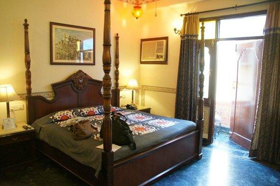 Umaid Mahal:                                     Our room with balcony