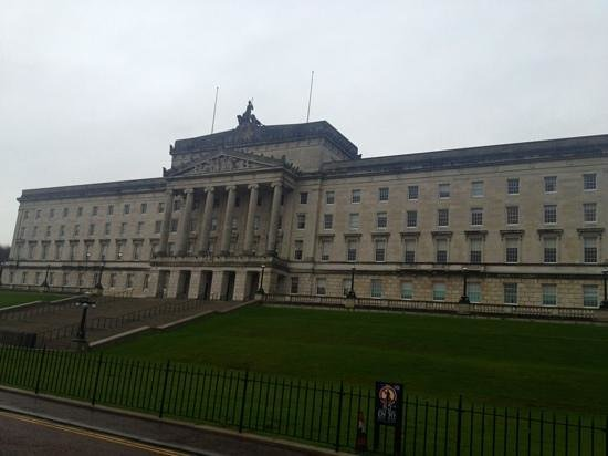 Stormont Hotel:                   the Stormont government building