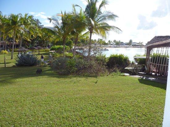 La Creole Beach Hotel:                   Photo à partir de la chambre vue sur mers