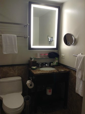 The Royal Hawaiian, a Luxury Collection Resort:                                     Bathroom