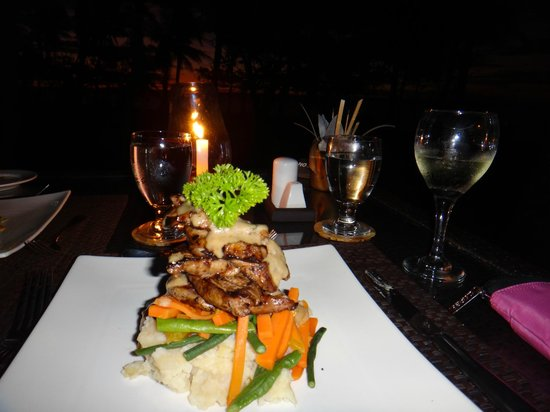 Lomani Island Resort:                   Another yummy dish