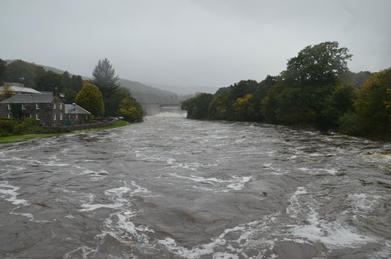 Rosehill Guest House: Flood waters