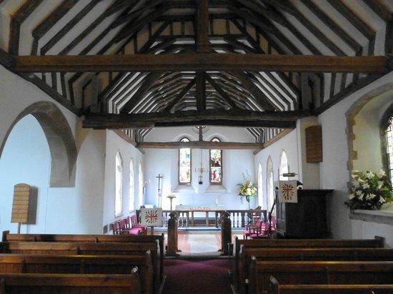 Church of St Cosmus & St Damian:                   Blean Church