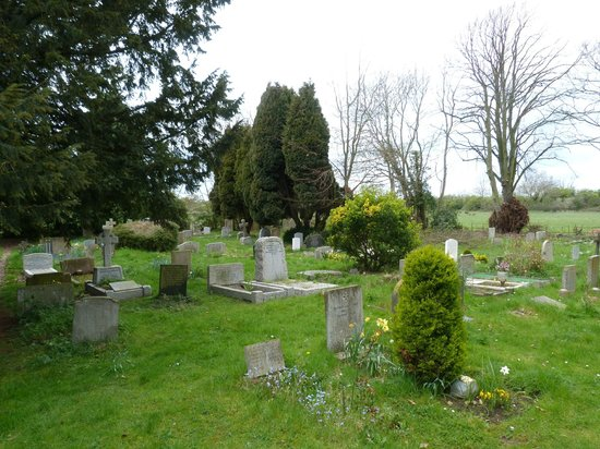 Church of St Cosmus & St Damian:                   Blean churchyard
