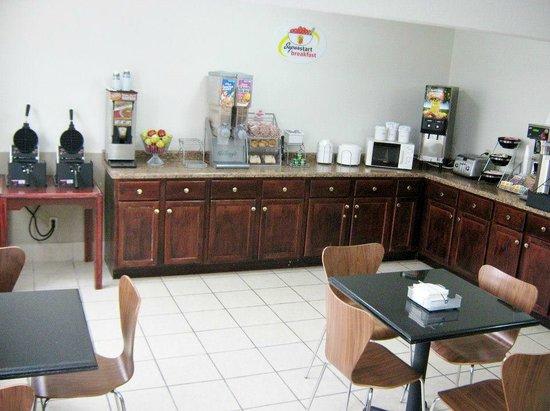 Super 8 Columbus: Breakfast Room