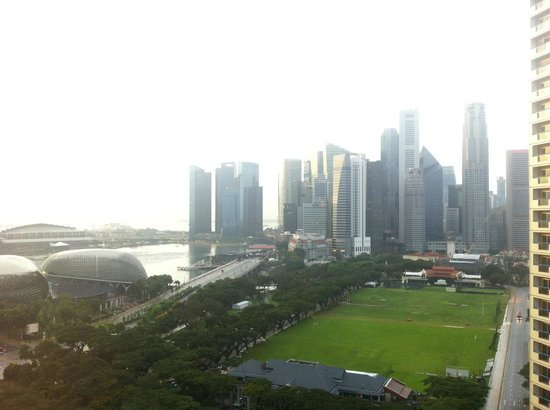 Fairmont Singapore: View in the morning