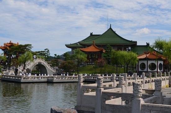 Yurihama-cho, Japan: jardim chines
