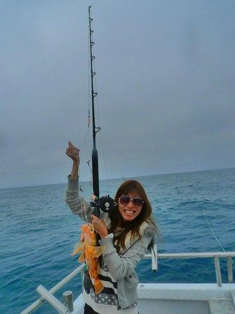 Kaikoura Fishing Tours: I got my first fish!