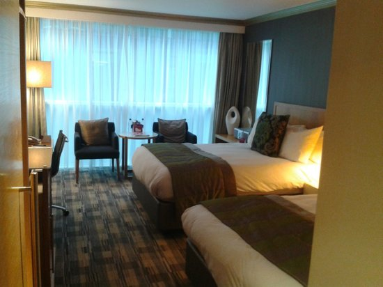 Crowne Plaza London - The City:                   A vercomfortable double double