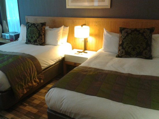 Crowne Plaza London The City:                   Very comfortable beds