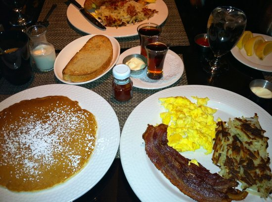 The Cafe:                   Two-Egg Breakfast