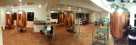Bayside Brewing Co: Brewery Production Floor Panorama