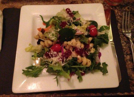 Sunset Cafe:                   house salad