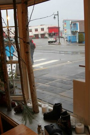 Cowpuccino's Coffee House: street viewing