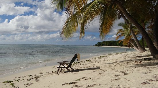 Firefly Hotel Mustique:                   Alone at Lagoon Bay