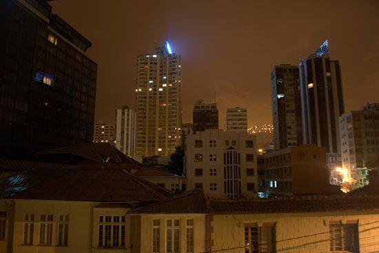Camino Real Aparthotel & Spa:                   Vista nocturna desde la habitación