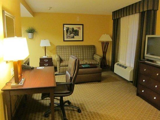 Homewood Suites Dover-Rockaway: Living area
