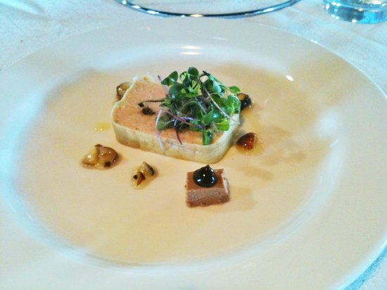 Cable Station Accommodation:                   rabbit terrine at the restaurant