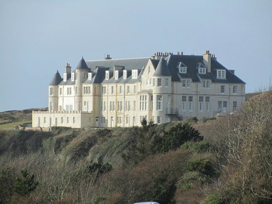 The Portpatrick Hotel:                   View of hotel