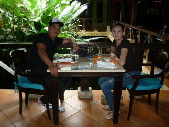 Rio Celeste Hideaway Hotel:                   Restaurante