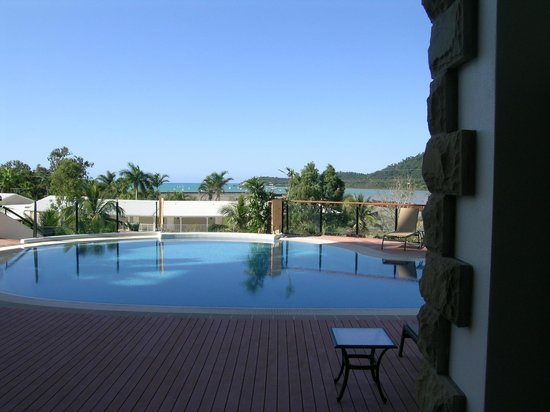 Blue Horizon Resort Apartments:                   View from the pool area