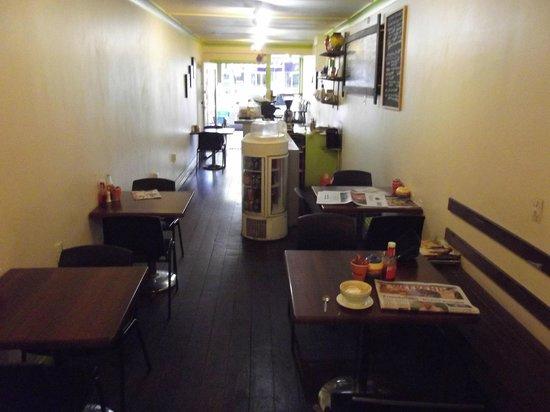 Inside Lemon Squeeze cafe