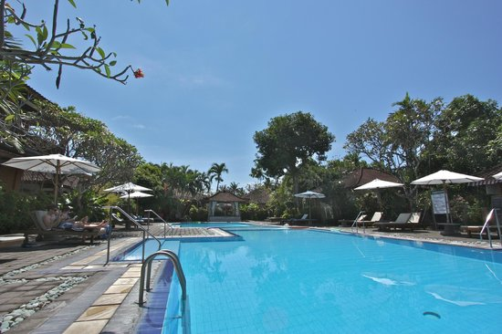 Bumi Ayu Bungalows: Swimming pool