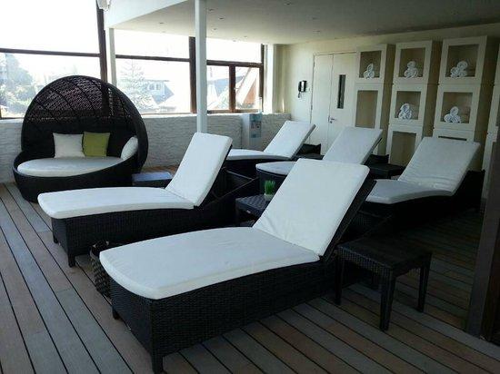 Hotel Manquehue Puerto Montt:                   Pool Area