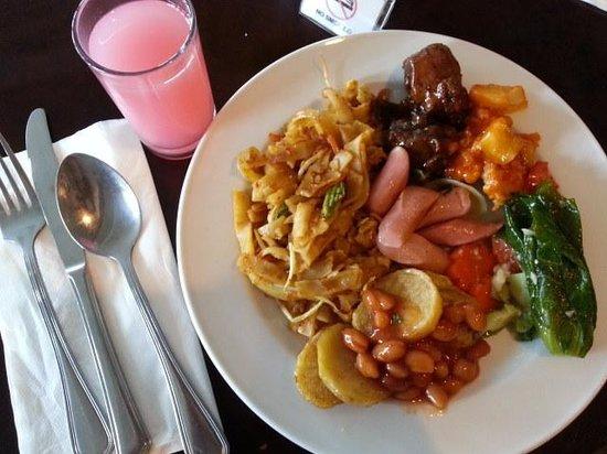 Swiss-Belinn Batam :                   Buffet breakfast