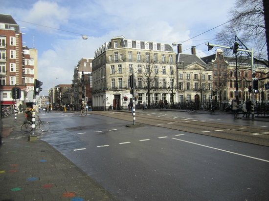 Amsterdam Marriott Hotel:                   Somewhere in Amsterdam