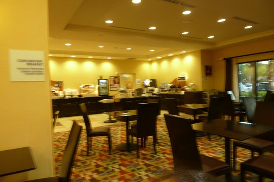 Holiday Inn Express Hotel & Suites Orlando - International Drive:                   breakfast area
