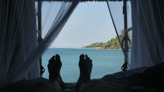 Kaya Mawa:                   view from the bed
