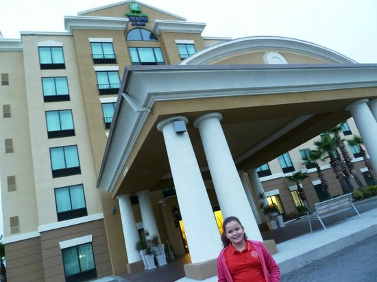 Holiday Inn Express Hotel & Suites Orlando - International Drive:                   Hotel