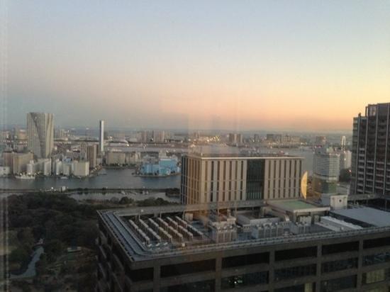 Park Hotel Tokyo:                   вид из номера