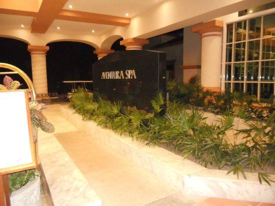 Heaven at the Hard Rock Hotel Riviera Maya:                                     Entrance