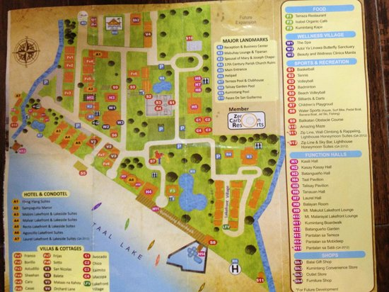 Club Balai Isabel: Map of Resort Hotel property