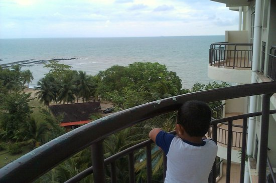 Ancasa Resort AllSuites:                   the view from balcony