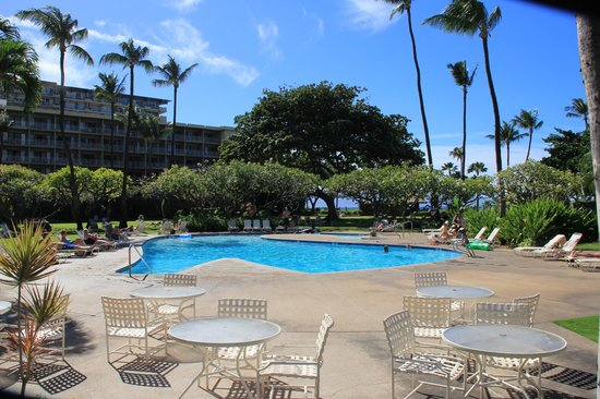 Kaanapali Beach Hotel:                   Swimming pool and surroundings
