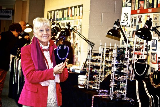 Alden Theatre:                   Elaina Ranger, designer owner of Pearls Plus Designs in McLean, Virginia