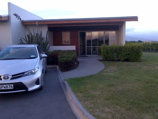 Marlborough Vintners Hotel:                   Room 13 at sunset