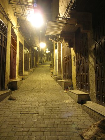 Riad Boujloud:                                     A quiet time at the medina...