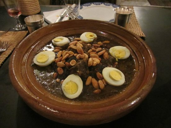 A wonderful dinner at Riad Boujloud