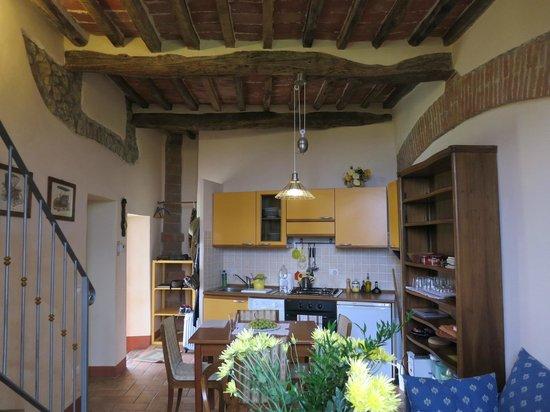Agriturismo La Falconara:                                     Portico kitchen/dining area