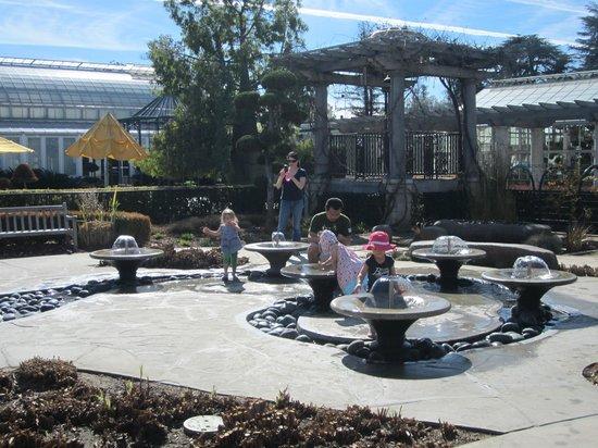 Fountain in children 39 s garden picture of the huntington - Huntington beach botanical garden ...