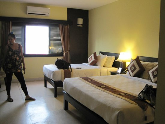 Siddharta Boutique Hotel:                                     Room for 3